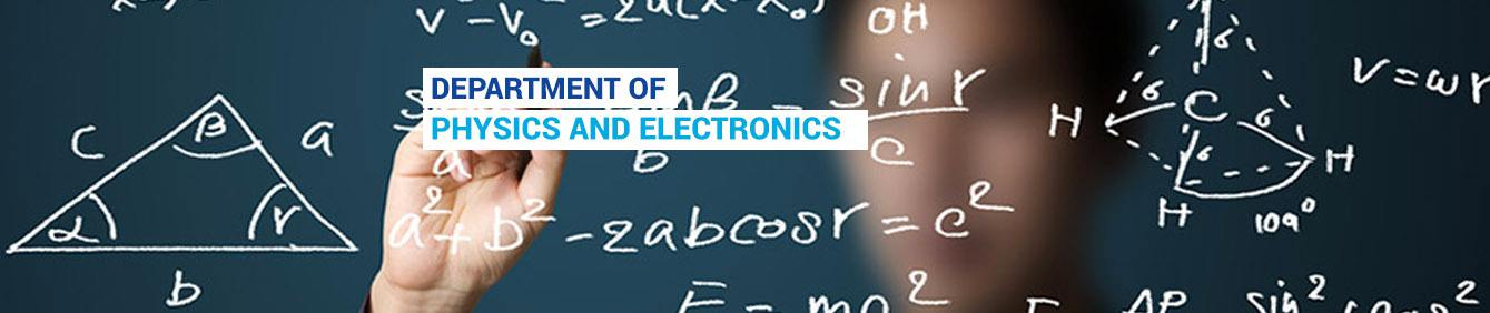Physics and Electronics